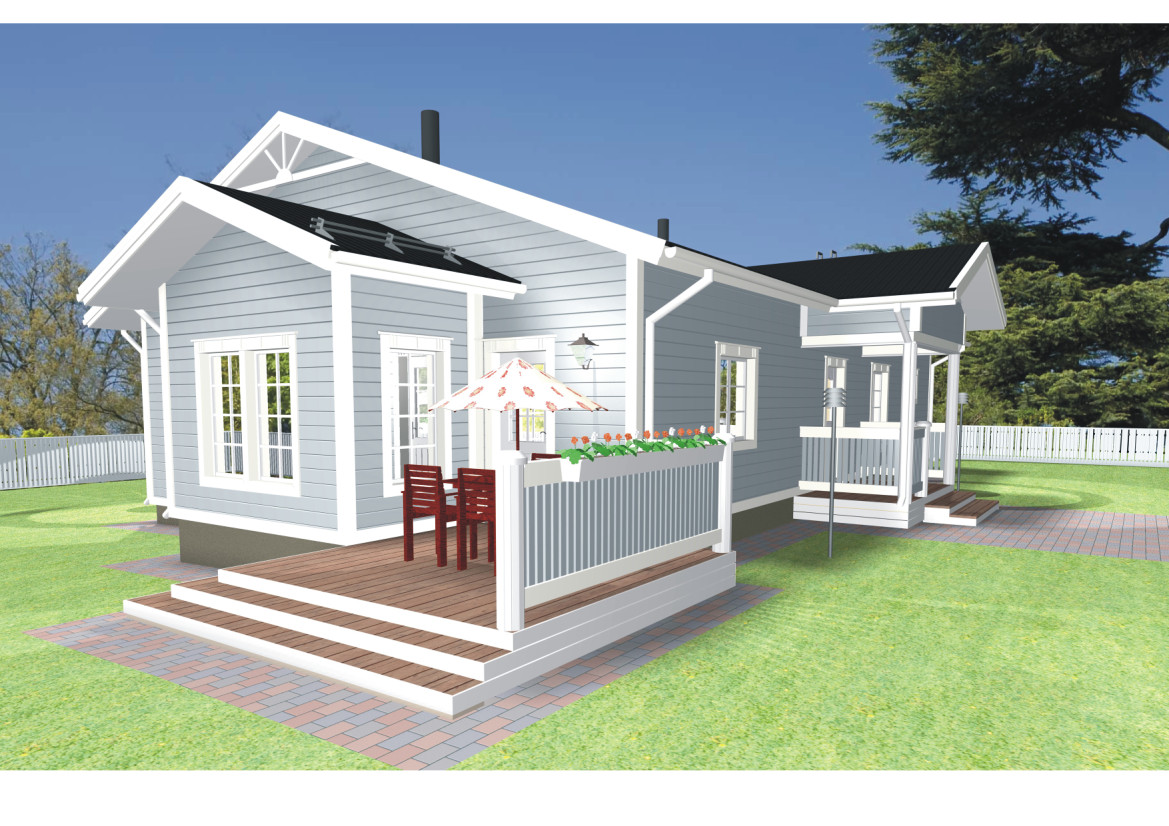 12 wonderful small house models architecture plans 861 for Small model house plans